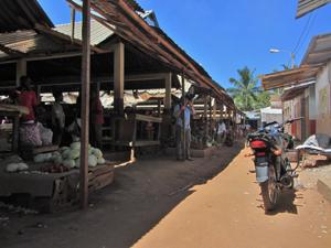 mercato mozambico