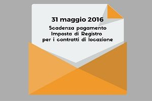 Imposta di registro scadenza del pagamento per i for Imposta di registro locazione