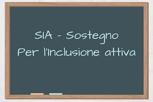 SIA - Sostegno inclusione attiva