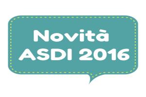 Novità ASDI 2016