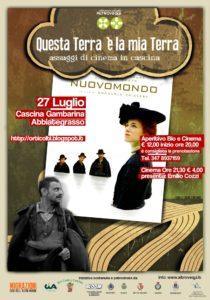 Cinema in Cascina 2013 - 27 luglio