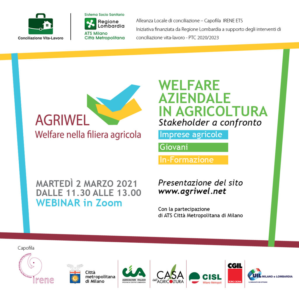Welfare in agricoltura